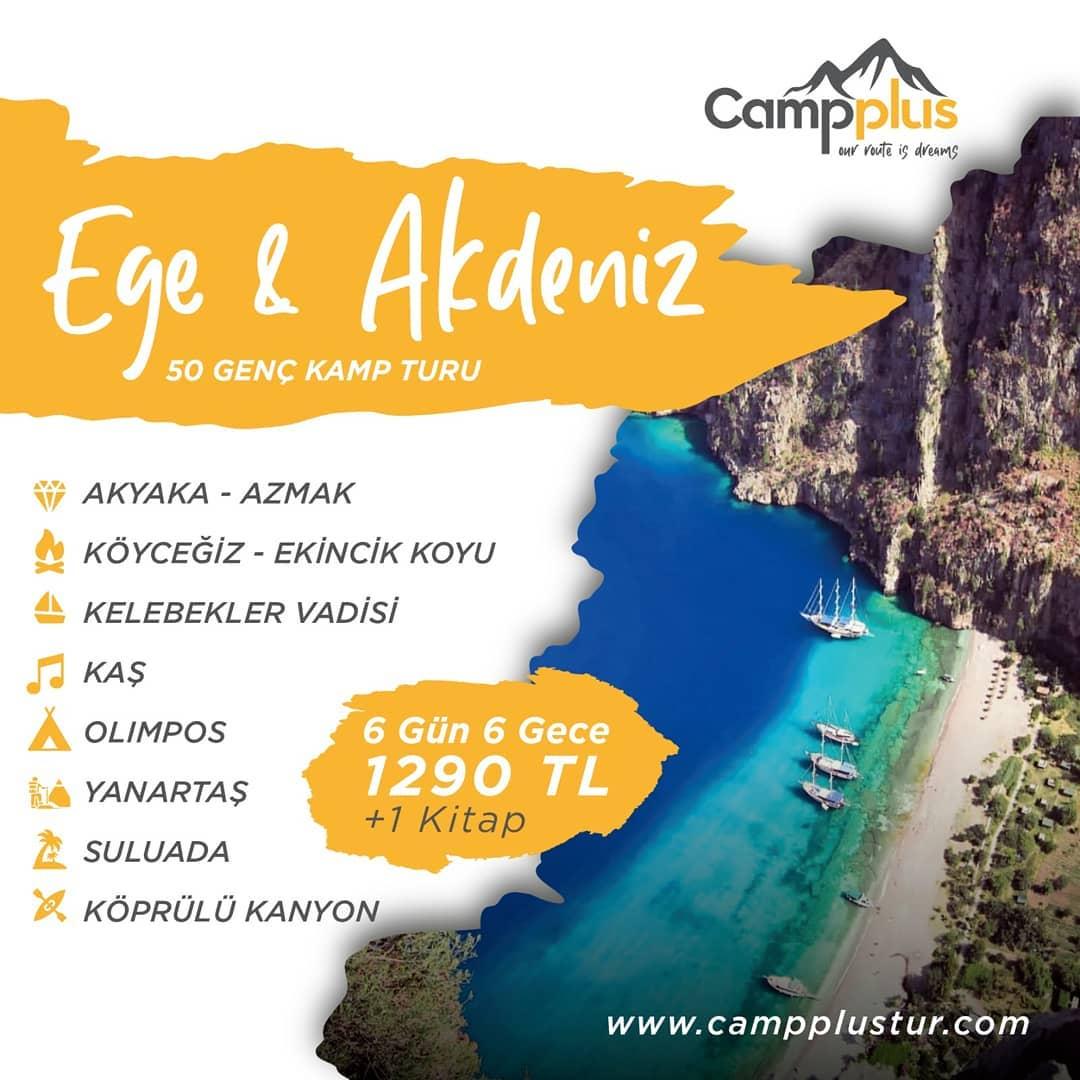 Ege & Akdeniz Kamp Turu