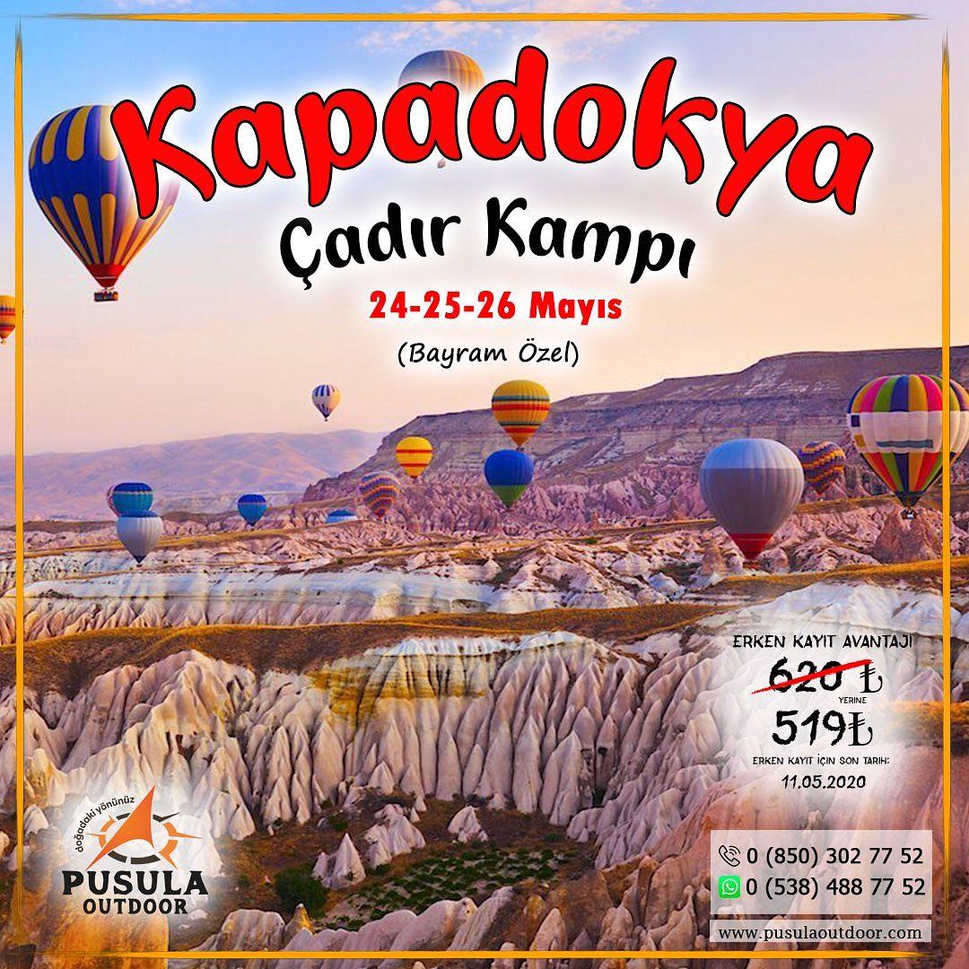 Kapadokya Çadır Kampı